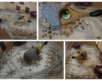 Handmade Hedgehog Doll