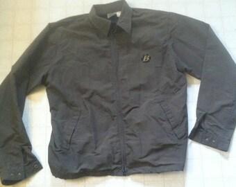 vintage Trek/Bontrager lightweight jacket. Size L dark brown