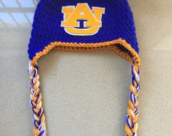 Auburn University Crochet Hat