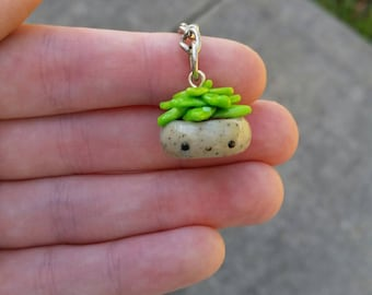 succulent keychain