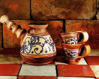 coffee set Ceramic coffee set. an amazing aroma and taste your their morning coffee.