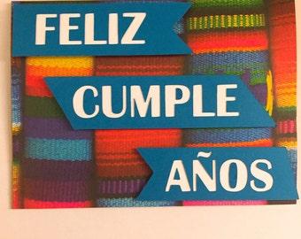 Feliz cumpleaños birthday card