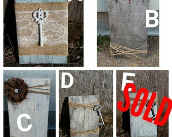 Bundle wall decor. Only 6 dollars each when you buy two or more!