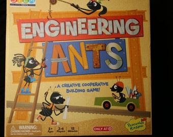 Engineering Ants board Creative Cooperative Building Game STEM