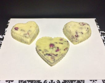 Rose Bath Truffle- Fizzy Bath Melt w/ Cocoa Butter