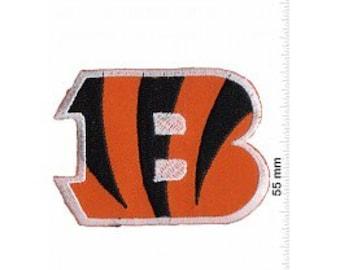Cincinnati Bengals Football Iron on Sew On Patch