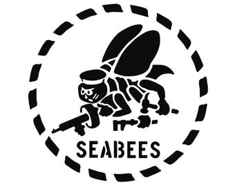 usn navy seabees bee wall decal 835958678 furthermore Clipart Safe Suit together with Seabee Logo furthermore Civilian together with 311439972796. on navy seabees