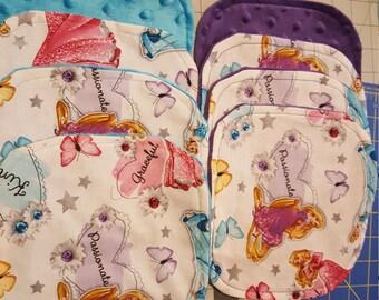 8 Disney Princess Wash cloths