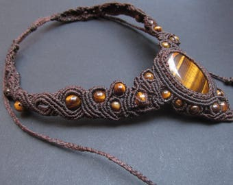 Tiger Eye necklace.