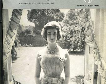 MAGAZINNE - The Lady - 2nd May 1963 - Royal Wedding