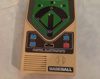 Vintage MATTEL Electronic Baseball Game - 1978