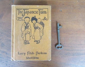 The Japanese Twins Vintage Book Lucy Perkins