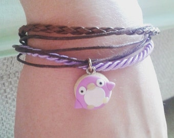 Bracelets with animals and food