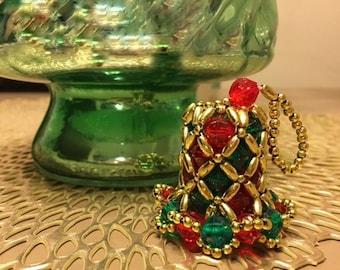 Christmas Retro Bell Ornament