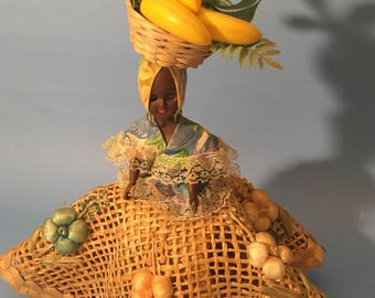 Vintage Jamaican Carribean Doll
