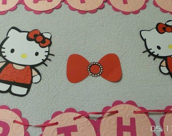 Hello kitty  Happy Birthday banner, Hello Kitty banner, Happy Birthday banner