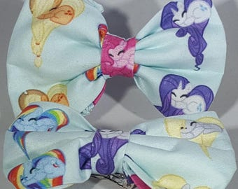 Little Pony Hearts Hairs Bows