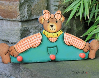 Vintage for kids wardrobe bear