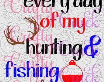 Fishing cricut etsy for Hunting fishing loving everyday
