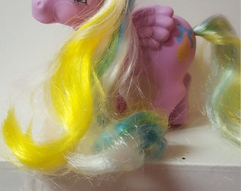 G1 My Little Pony Brush n' grow Curly Locks