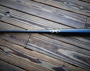 Matte Black Maple Baseball Bat