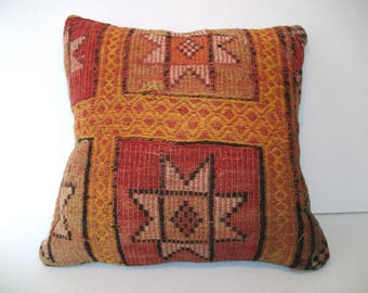 Star Style Pillow,Pale Color Cusion,Mudcloth Pillow,Oushag Pillow,Kilim Pillow Cover,Southwest Pillow,Embrodery Pillow,Moroccan Pillow,c-97