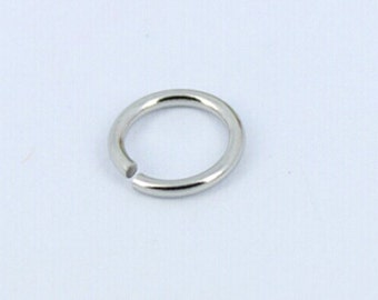 Stainless Steel Jump Ring 10mm  QTY 100 (JR-01)