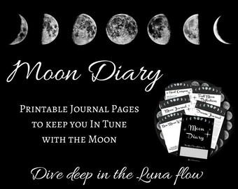 Moon Diary   Luna Journal