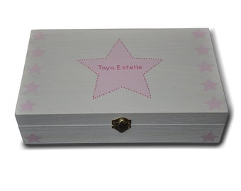 "Memory box ""Name with stars"""
