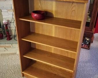 Oak Bookshelf