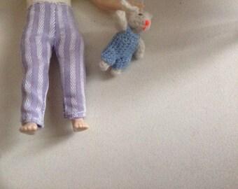 Pants for teen Heidi Ott. Handmade.