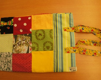 Cloth bag, cotton patchwork bag