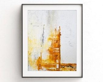 Printable art instant download printable art abstract print yellow white painting wall decor modern abstract print design artwork home decor