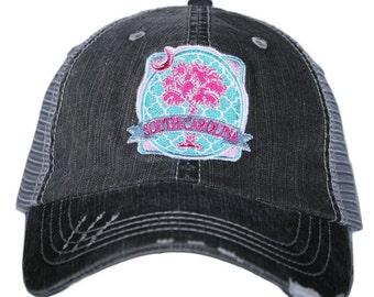 South Carolina Palmetto Moon Trucker Hat ~ South Carolina Hat ~ Super Cute