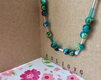 Secret Message Necklace (Morse Code)