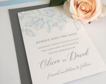 Save the Date Wedding Stationery Suite - SAMPLE | Olivia Range