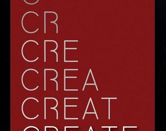 Create - Motivational Poster