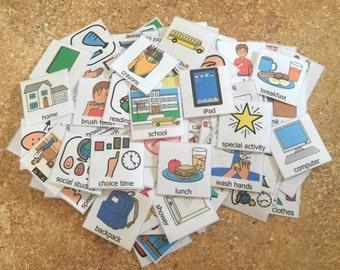 PEC Symbols 120 visual aid boardmaker symbols communication aid autism special education behavior aid
