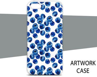 Blue Berry Case For Samsung A5 2017 Case For Samsung A3 2017 Case For Samsung A7 2017 Case For Samsung Note 8 Case For Samsung S7 edge S8