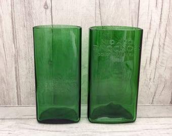 Gordons Gin Vase / Utensil Holder (Recycled Bottle)