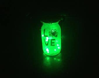 Irish Pride LED Jar