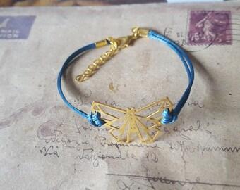 Origami cuddling bracelet-goldfarben -.
