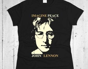 John Lennon Women T-shirt