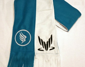 Mass Effect Spectre/Paragon Two-Tone Scarf