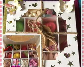 Pick n mix sweet box