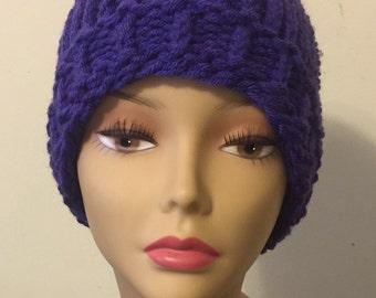 Solid Color Sloppy Bun Hat