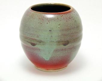 Hand Made, Thrown on Wheel, Ceramic vase, Flower Vase, Home Decor, Office Decor, Decorative Art, Pottery, Bud Vase