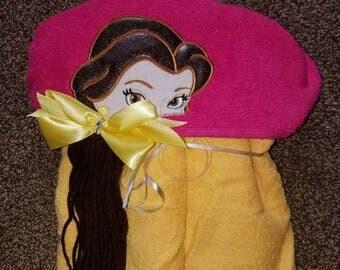 Bell hooded towel