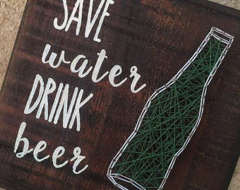 Made to Order: Save water drink beer