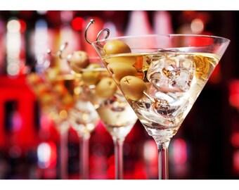 Snack martini cups